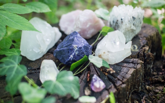 Crystals meaning A-K